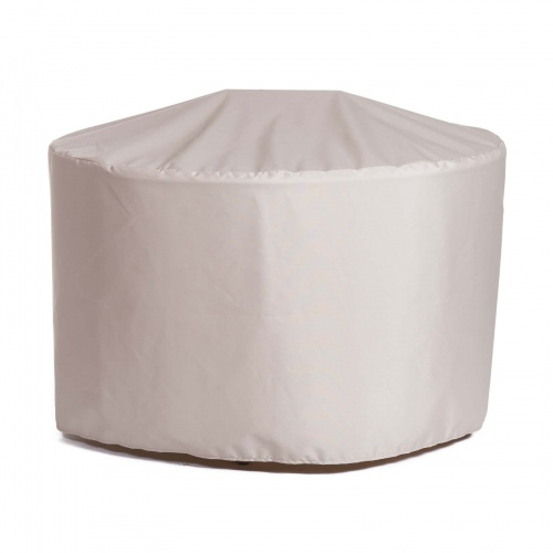 48.5 dia x 28.25 h Vogue 4 ft Round Table Cover - Picture A