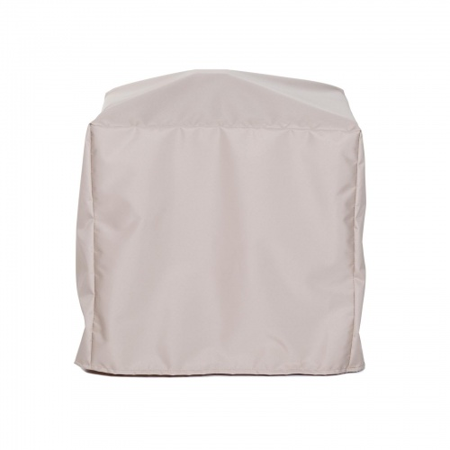 36.5 w x 36.5 d x 28.25 h Vogue Square Table Cover - Picture A
