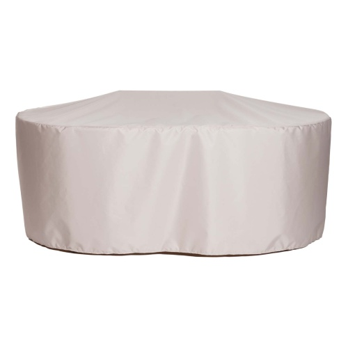 55.5 L x 52 w x 28 h Oval Table Cover - Picture B