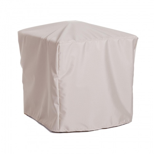 19 w x 18.75 d 16.25 h Folding Side Table Cover - Picture B