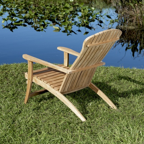 teak lounging furniture