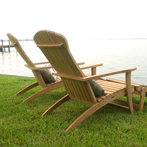 Adirondack Chair with Footrest - Picture K