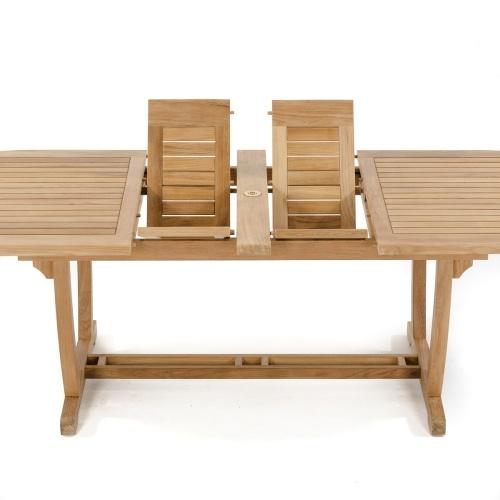 teak director outdoor chairs
