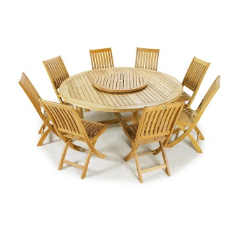 9 pc Buckingham Teak Dining Set