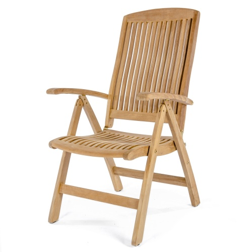 folding reclining patio chair