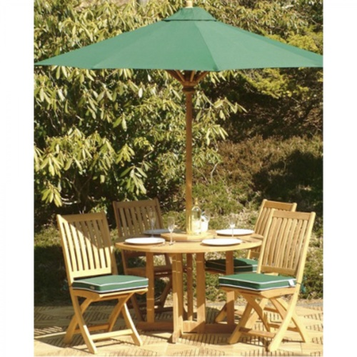 5 pc Barbuda Teak Dining Set - Picture M