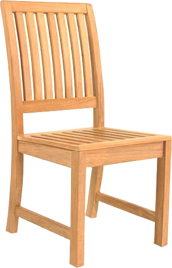 Grand Hyatt 4 foot Round Teak Patio Set - Picture C