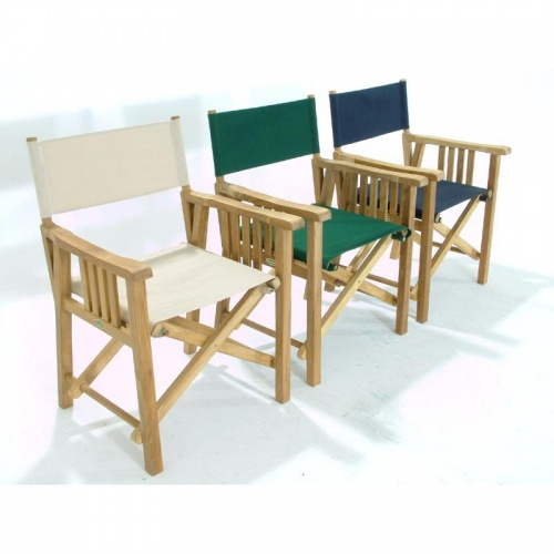 Cayman Director Chair Dining Set for 8 - Picture C