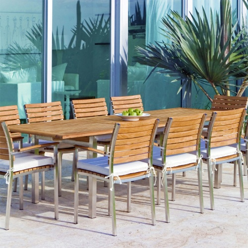 luxury teak dining setsl