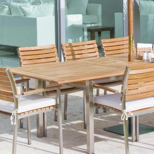 outdoor dining furniture steel