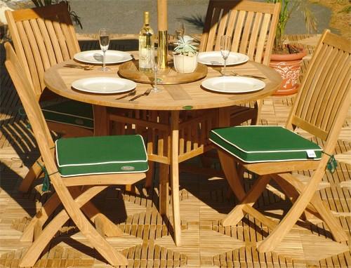 teak round dining sets