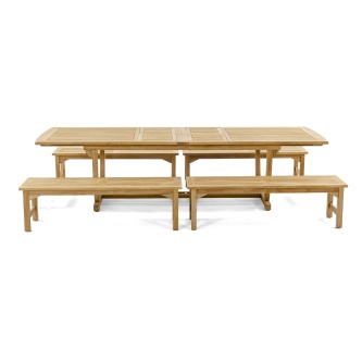 Grand Veranda Teak Picnic Set