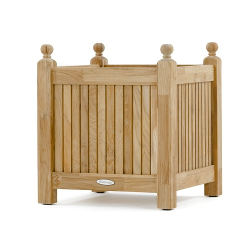 Teak Planter Bench Set - Picture B