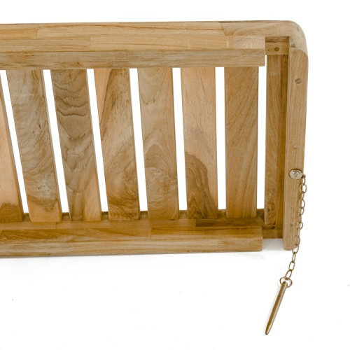 Teak Planter Bench Set - Picture E