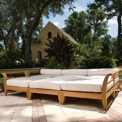 outdoor sectional daybeds