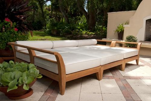 teak patio furniture set