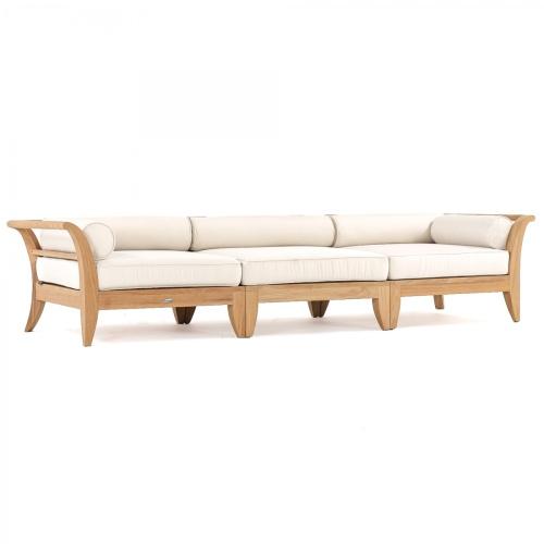 outdoor teak sofas