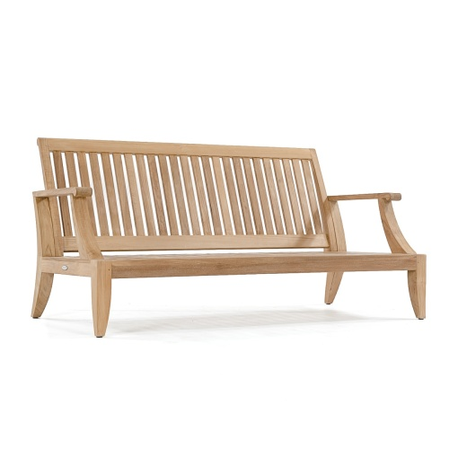 teak deep seating lounge chair set