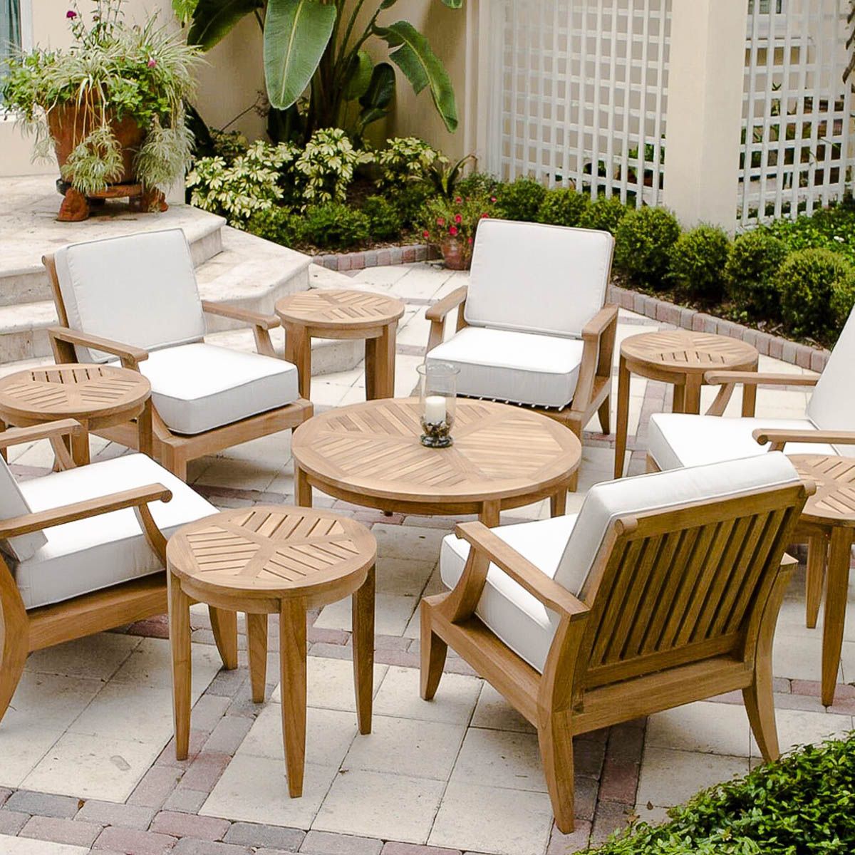 Laguna 11 Pc Lounge Set Westminster Teak