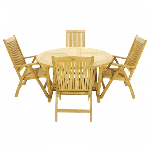 Teak Special Dining Set - Picture A