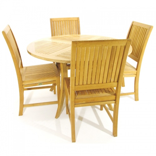 Teak Dining Set - Picture A