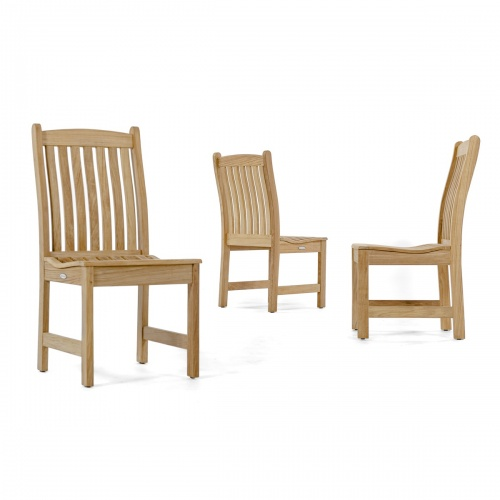 Barbuda Folding Table Veranda Dining Chair Set - Picture D