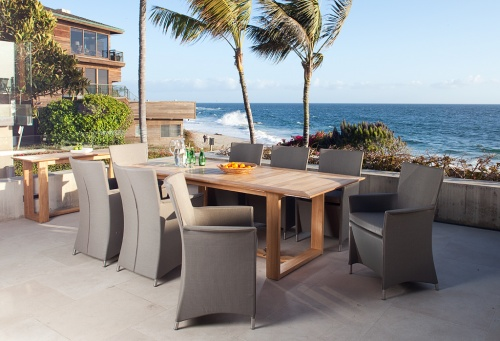 teak outdoor dining sets