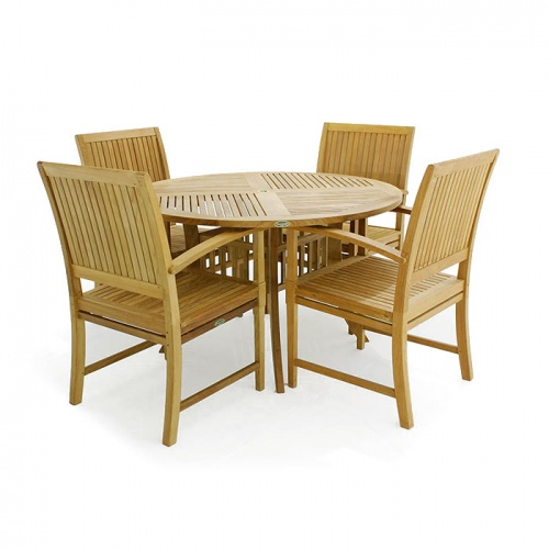 Bucata Hyatt Teak Dining Set - Picture A
