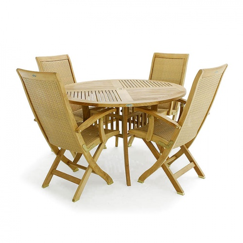 Hyatt Bali Teak Dining Set - Picture A