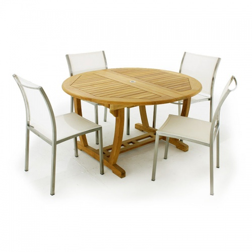 Teak Dining Set for 6 - Picture L