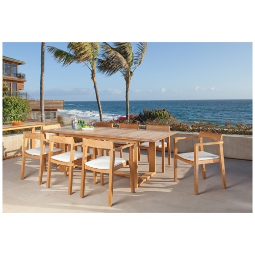 contemporary patio dining sets