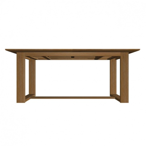 Horizon Extendable Teak Dining Set - Picture H