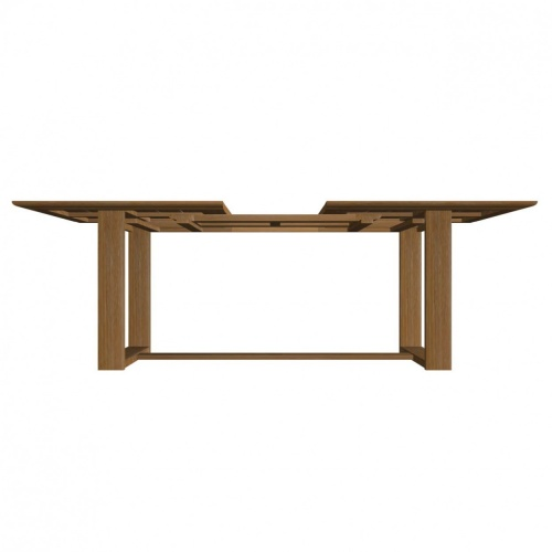 Horizon Extendable Teak Dining Set - Picture K