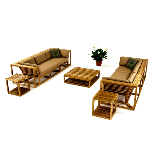 outdoor teak sectional furniture