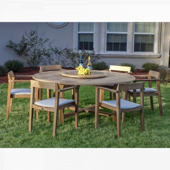 7 pc Buckingham Horizon Teak Set