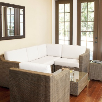 Malaga 7 pc Wicker Set