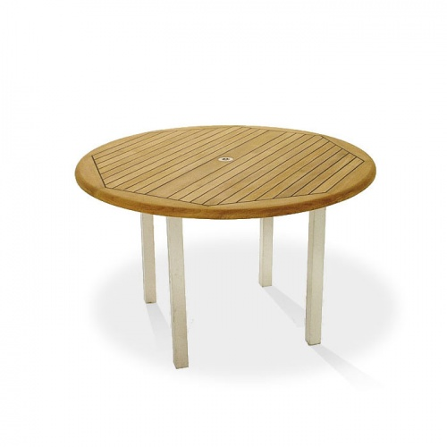 5 ft round teak tables