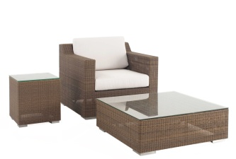 Malaga Wicker Lounge Set
