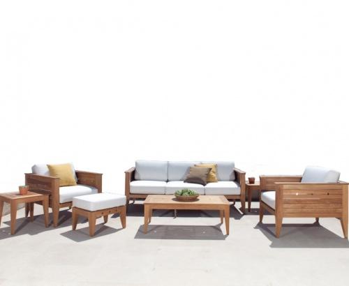 indoor teak lounge sets