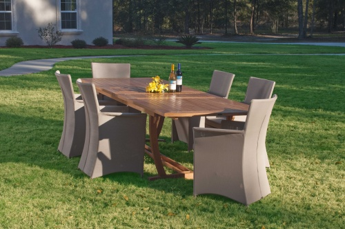 outdoor sling dining sets
