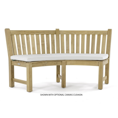 7 pc Martinique Teak Bench Set - Picture L