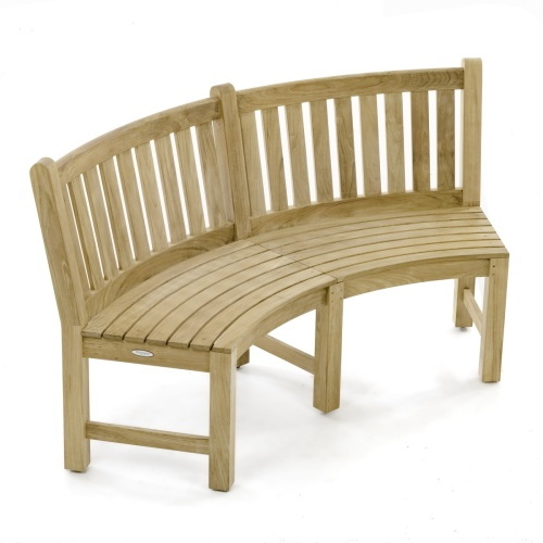 7 pc Martinique Teak Bench Set - Picture M