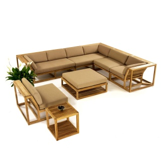 Maya 10pc Sectional Set