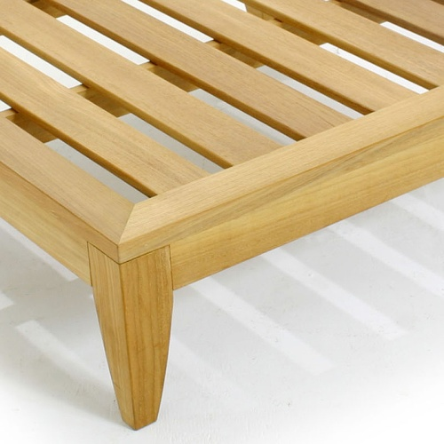 Teak Patio Daybed Set - Picture L