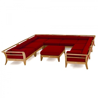 Aman Dais 9pc Daybed