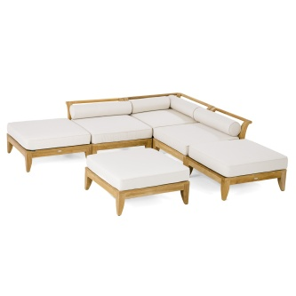 Aman Dais Daybed - 6 pc Sectionals