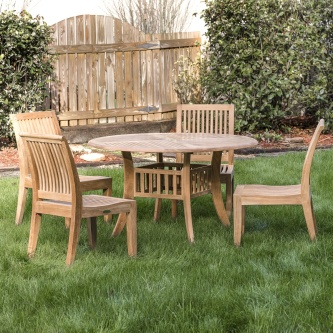 5 pc Hyatt Laguna Teak Dining Set