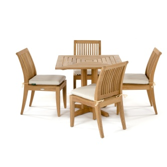5 pc Pyramid Laguna Teak Set