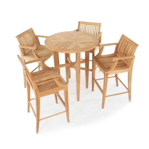 teak outdoor bar furniture