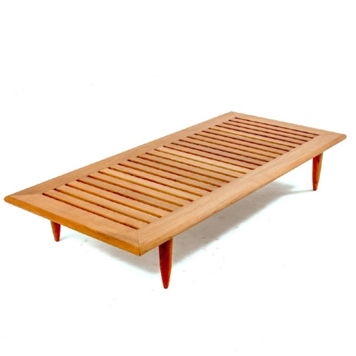 Saloma Premium Teak Daybed and Sidetable - Picture C